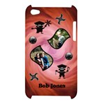 Red Ninja Ipod Touch Case - Apple iPod Touch 4G Hardshell Case