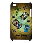Green Ninja Ipod Touch Case - Apple iPod Touch 4G Hardshell Case