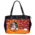 Autumn Rainbow/sunshine-Oversize Office handbag (2 sides) - Oversize Office Handbag (Two Sides)