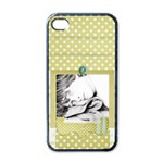 cold whisper iphone - Apple iPhone 4 Case (Black)