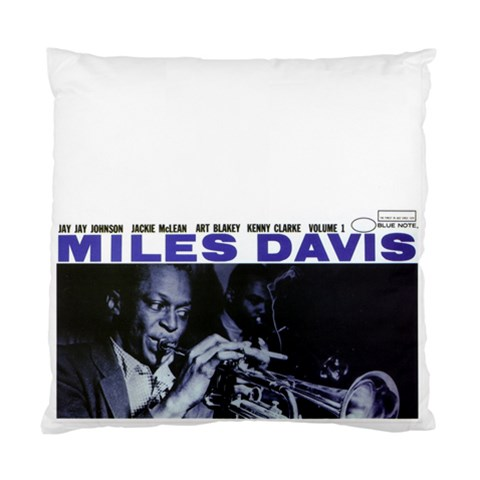 Miles Davis Pillow By Davis Mcpherson   Standard Cushion Case (one Side)   Rk6shmin9f4x   Www Artscow Com Front