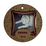 Sasha2 - Ornament (Round)