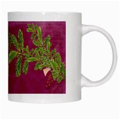 Shabbychristmas Vol1   White Mug  By Picklestar Scraps   White Mug   Gmxlccapwg18   Www Artscow Com Right