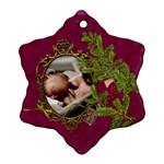 ShabbyChristmas Vol1 - Ornament (Snowflake)