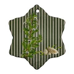 Shabbychristmas Vol1   Snowflake Ornament(2sides)  By Picklestar Scraps   Snowflake Ornament (two Sides)   Al4c7gdmtzfa   Www Artscow Com Back