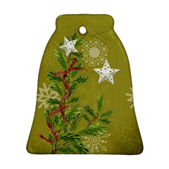 Shabbychristmas Vol1   Bell (2sides)  By Picklestar Scraps   Bell Ornament (two Sides)   Du6h7wrdj790   Www Artscow Com Back