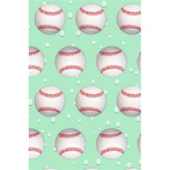 Baseball Notebook By Kim Blair   5 5  X 8 5  Notebook   95h67h7890ut   Www Artscow Com Back Cover