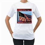 land of the free T-Shirt - Women s T-Shirt