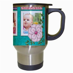 Kids By Joely   Travel Mug (white)   Zjsaylp183zu   Www Artscow Com Right