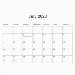 2016 Timeless   Wall Calendar 11x8 5 (12 Mths) By Picklestar Scraps   Wall Calendar 11  X 8 5  (12 Months)   Kwjpnj9cpxel   Www Artscow Com Jul 2016