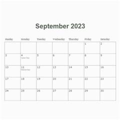 2016 Timeless   Wall Calendar 11x8 5 (12 Mths) By Picklestar Scraps   Wall Calendar 11  X 8 5  (12 Months)   Kwjpnj9cpxel   Www Artscow Com Sep 2016