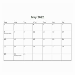 2016 Timeless   Wall Calendar 8 5x6 By Picklestar Scraps   Wall Calendar 8 5  X 6    Eflzr5jaq5uq   Www Artscow Com May 2016