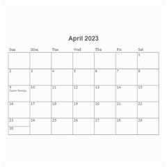 2016 Timeless   Wall Calendar 8 5x6 By Picklestar Scraps   Wall Calendar 8 5  X 6    Eflzr5jaq5uq   Www Artscow Com Apr 2016