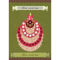 Indian Spice 3d Birthday Card By Claire Mcallen   Birthday Cake 3d Greeting Card (7x5)   Xry2oyyfj7nd   Www Artscow Com Inside