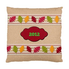 Fall Pillow By Patricia W   Standard Cushion Case (two Sides)   5fpxdwxjrafv   Www Artscow Com Back