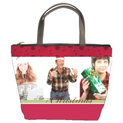 Xmas By May   Bucket Bag   J08hygmv4c4n   Www Artscow Com Front