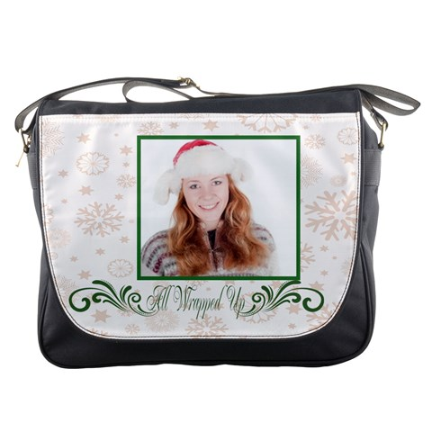 Xmas By May   Messenger Bag   V40swdfojh3d   Www Artscow Com Front