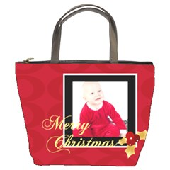 Xmas By May   Bucket Bag   T0eyh6t69nws   Www Artscow Com Front