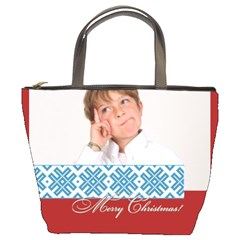 Xmas By May   Bucket Bag   Zd6x67yngd15   Www Artscow Com Front