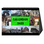 Our travels Desktop 8.5x6  Calendar - Desktop Calendar 8.5  x 6