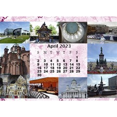 Our Travels Desktop 8 5x6  Calendar By Deborah   Desktop Calendar 8 5  X 6    881clnqpm53v   Www Artscow Com Apr 2017