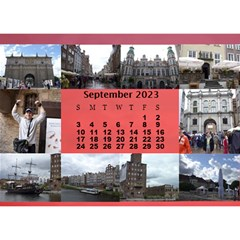 Our Travels Desktop 8 5x6  Calendar By Deborah   Desktop Calendar 8 5  X 6    881clnqpm53v   Www Artscow Com Sep 2017