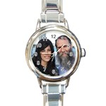 LUV U! - Round Italian Charm Watch