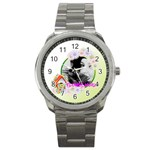 flower - Sport Metal Watch