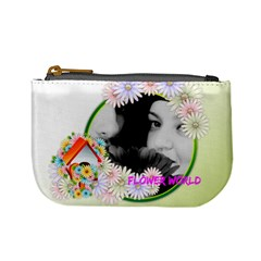 Flower By May   Mini Coin Purse   2gq7aeiszq2o   Www Artscow Com Front