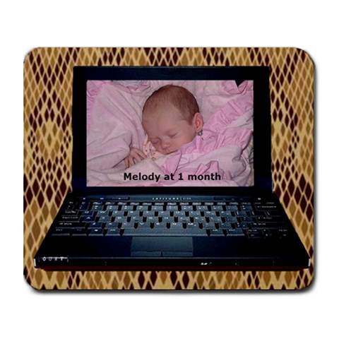 Laptop Mousepad By Kim Blair   Collage Mousepad   Sob8clqvcnxg   Www Artscow Com 9.25 x7.75 Mousepad - 1