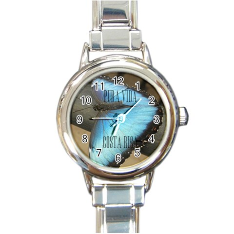Costa Rica Watch By Becky   Round Italian Charm Watch   Pd8sagp888qn   Www Artscow Com Front