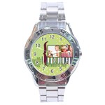 kids - Stainless Steel Analogue Watch