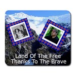 Land of the free Mousepad - Collage Mousepad