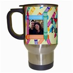 Crayon Travel mug - Travel Mug (White)