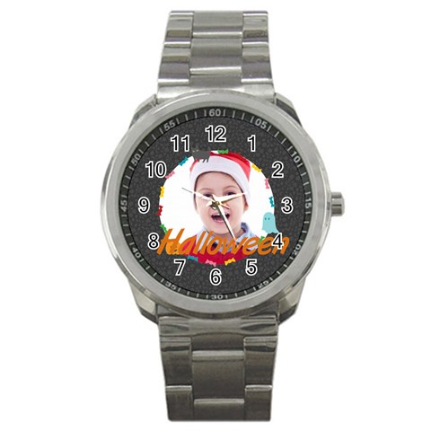 Halloween By May   Sport Metal Watch   A5mqzjsuvxtl   Www Artscow Com Front