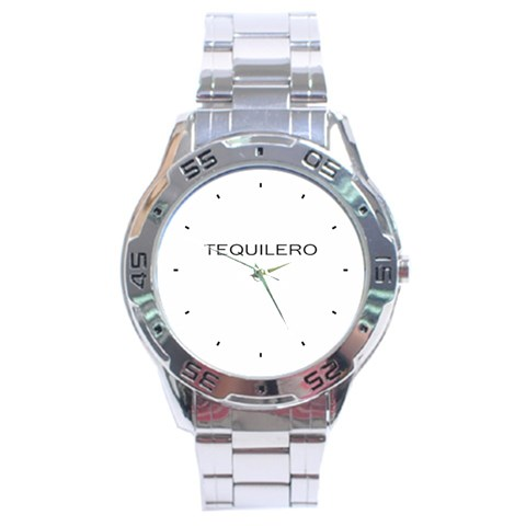 Tequilero Watch By Juan Gomez   Stainless Steel Analogue Watch   8i5nlmktysy5   Www Artscow Com Front
