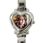 tony 1 - Heart Italian Charm Watch