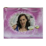 Misty Pink Cosmetic Bag (XL)