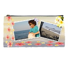 Paradise Pencil Case By Deborah   Pencil Case   H9gpq1oap9lr   Www Artscow Com Front