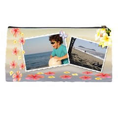 Paradise Pencil Case By Deborah   Pencil Case   H9gpq1oap9lr   Www Artscow Com Back