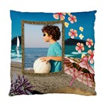 Beach House Cushion cover - Cushion Case (Two Sides)