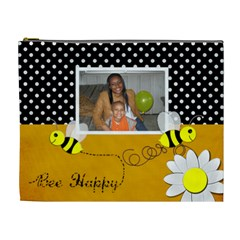 Bee By Meredith Hazel   Cosmetic Bag (xl)   A85gc52a0u02   Www Artscow Com Front