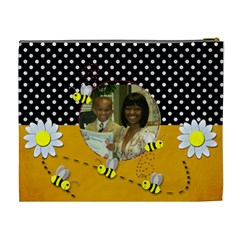 Bee By Meredith Hazel   Cosmetic Bag (xl)   A85gc52a0u02   Www Artscow Com Back