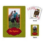 the taylors cards - Playing Cards Single Design