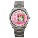 i love you - Sport Metal Watch