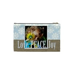 Love By M Jan   Cosmetic Bag (small)   83rr7hys3p8l   Www Artscow Com Back