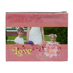Love By Man   Cosmetic Bag (xl)   7gxlu4wmmeif   Www Artscow Com Back