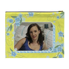 Sunny Cosmetic Bag (xl) By Deborah   Cosmetic Bag (xl)   O5cmii3k657w   Www Artscow Com Back