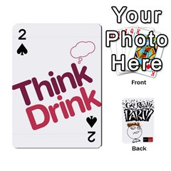 Beber By Rodrigo   Playing Cards 54 Designs   Lrwos3wfoc5o   Www Artscow Com Front - Spade2