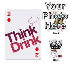 Beber By Rodrigo   Playing Cards 54 Designs   Lrwos3wfoc5o   Www Artscow Com Front - Diamond2